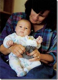 Mom baby grace